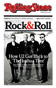 U2 -Magazine Rolling Stone -Février 2017