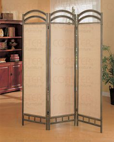 Tall Do It Yourself Canvas Room Divider Oriental Furniture 7 ft