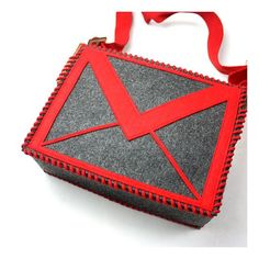 The DIY Email Bag is very cute