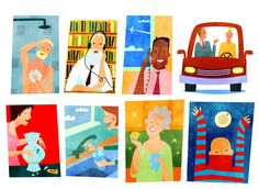 Dermot Flynn - Illustration - People & Characters