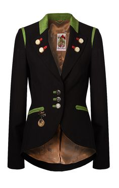 The jacket! Love the mix of military details and the riding jacket shape