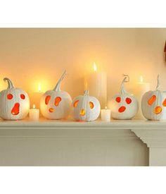Modern, spooky Halloween decorations