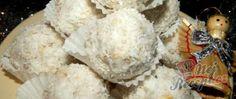 Kokosové koule v čokoládě | NejRecept.cz Cheese Croissant, Square Cakes, Croissants, Bacon, Treats, Homemade, Pasta, Mascarpone, Quick Cake