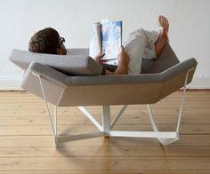 cadeiras de balanço - Nada como refestelar-se numa bela cadeira como esta!
