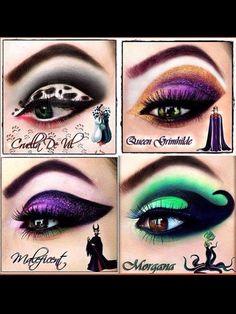 Disney makeup! More