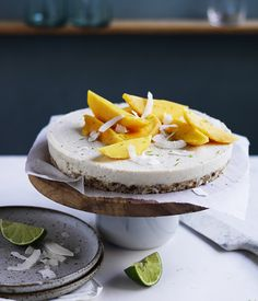 This do-ahead tart is chock-full of tropical flavours and is summer in a dessert.