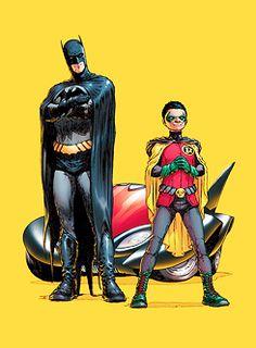 Batman (Dick Grayson) & Robin (Damian Wayne) - Batman Reborn