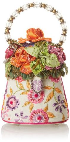 Mary Frances French Linen Evening Bag,Multi,One Size Mary Frances, To SEE or BUY just CLICK on AMAZON right here http://www.amazon.com/dp/B00HNIV64Q/ref=cm_sw_r_pi_dp_O7fytb133YM01ZNR