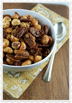 Savory and Spicy Nuts