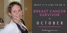 October is tough month to be breast cancer survivor. What it's like to be a breast cancer survivor in October during Breast Cancer Awareness Month.