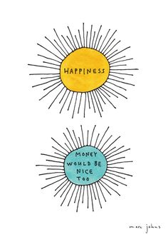 Marc Johns: Happiness / Money would be nice too