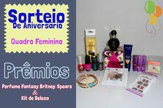 Sorteio de Aniversário: Perfume Fantasy Britney Spears + Kit de Beleza