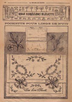 La Semaine de Suzette Bleuette patterns - Google Search