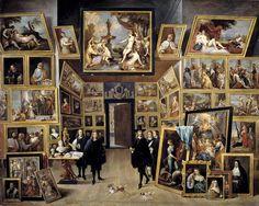 Esta obra del pintor flamenco David Teniers El Joven se corresponde con una tipología de pinturas que triunfó en la época de la mano del afán propagandístico de la aristocracia del siglo XVII, ansi…