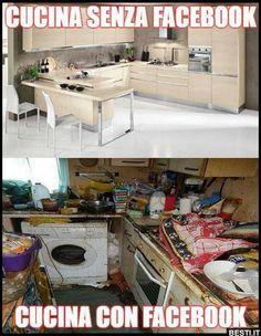 Cucina senza Facebook
