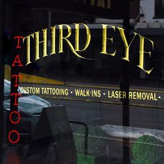 Reverse Prismatic lettering gilded using 23 Karat Gold leaf on Shopfront Window. Nicholson St. Nth. Fitzroy.