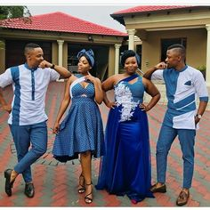 New South African Shweshwe Dresses South African Dresses, South African Traditional Dresses, African Fashion Designers, Latest African Fashion Dresses, Traditional Outfits, African Wedding Attire, African Attire, African Weddings, African Wear