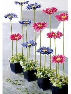 Ideas for wedding vintage chic floral arrangements
