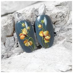 Flower Nail Art, Spring Flowers, Pastel, Nail Fashion, Nailart, Minimal, Instagram, Art Nails, Hall Way Decor