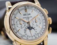 European Watch Company: Patek Philippe Perpetual Calendar Chronograph 18K Rose Gold 40MM