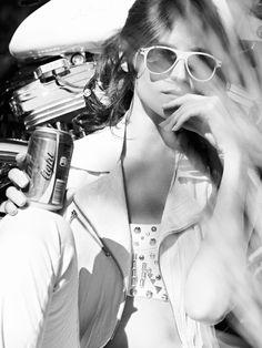 Moto Show   Daiane Conterato   Xevi Muntané #photography   Marie Claire Italia June 2012