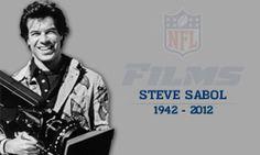 Steve Sabol, president of NFL Films, RIP 1942-2012