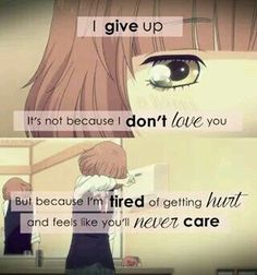 Anime: ao haru ride I can relate Sad Anime Quotes, Manga Quotes, True Quotes, Breakup Quotes, People Quotes, Ao Haru, Les Sentiments, How I Feel, In My Feelings