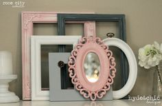 Shabby Chic Decor / Baby Girl Nursery / by hydeandchicboutique, $54.99