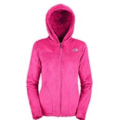 """Women's The north face """"fuzzy"""" Osito jacket The North Face Oso Jacket is ridiculously soft and comfortable.This full zip jacket is made with silken fleece. Abrasion-resistant taffeta panels cover the shoulders aiding in this hoodie's durability. Two sleek hand pockets provide space to place your hands and stash some items. With a super soft, high loft hood, it is sure to be a favorite this season. Exterior Material: Silken fleece, polyester taffeta,Hood: Yes, Type: Fleece, Jacket Fit…"""