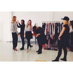 Styling and fun at the shoot of the latest VERO MODA catwalk video #veromoda #veromodainside #styling #catwalk #fashion #fun #girls