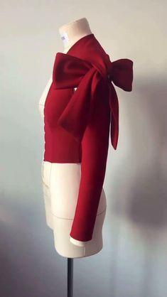 Diy Belt For Dresses, Sleeves Designs For Dresses, Diy Dress, Stylish Dresses, Fashion Sewing, Diy Fashion, Fashion Dresses, Fashion Videos, Dress Sewing Patterns