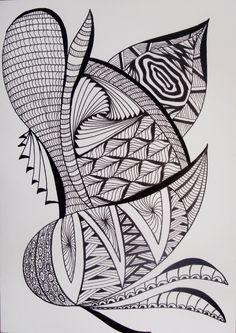 Tangle fantasy by Desiree Veltsema