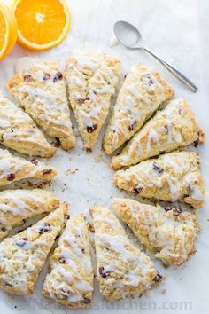 Cranberry Orange Scones Recipe - NatashasKitchen.com