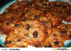 Nejlepší marokánky - My site Desert Recipes, Christmas Candy, Lasagna, Nom Nom, Pork, Food And Drink, Meat, Chicken, Cookies