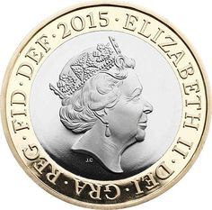 The Queen's new portrait for coins has been revealed by Royal Mint #Royalty #QueenElizabeth #2015 - Telegraph