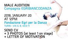 Audition Notice Company EgriBiancoDanza