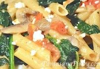 spinach-and-feta-pasta