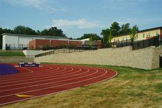 Notre Dame de Sion High School New Athletic Complex 2016 HNA Awards Winner - Segmental Retaining Walls - Commercial