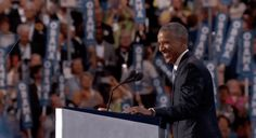 New trending GIF tagged barack obama dnc democratic national...
