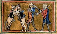 Znalezione obrazy dla zapytania iluminacja średniowieczna