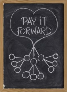 You may never know the impact of your good deeds, but you can rest assure that when you pay it forward, you leave a positive mark on the life of another. Let's make this world a better place, together. Join us for Pay It Forward Day this Thursday. Small Acts Of Kindness, Budget Planer, Pay It Forward, Moving Forward, Just Dream, Good Deeds, Monologues, Giving Back, Personal Branding