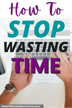If you're tired of being inefficient and wasting your day, learn how you can stop wasting time with just a few simple steps! A list of tips and tricks to help you regain your time and become more efficient! Stop Wasting Time, Social Media Detox, Habits Of Successful People, Personal Development Books, Time Management Skills, Changing Jobs, Change Your Mindset, Healthy Lifestyle Tips, Living A Healthy Life