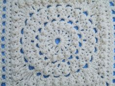 Ravelry: Maryfairy's Circle of Friends Square for Cream Afghan II