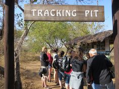 Aviva Volunteers - learn how to track with the anti-poaching unit whilst volunteering at Hoedspruit Endangered Species Centre. Check out our website for details.