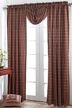 ★Country Primitive Braddock Balloon Valance by VHC Brands★ sold on eBay