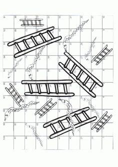 spelbord Laddertjes
