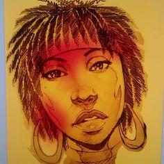 Coloring pt1 #illustration #drawing #sketch #sketching #pencil #pen #ink