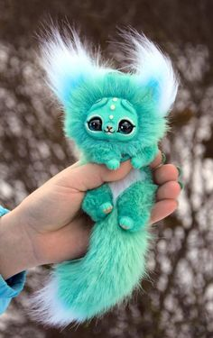 Cats For Sale Refferal: 2308951058 Baby Animals Super Cute, Cute Stuffed Animals, Cute Little Animals, Cute Fantasy Creatures, Cute Creatures, Mystical Animals, Tier Fotos, Cute Toys, Art Dolls