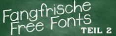 Fangfrische Free Fonts - Teil 2 - Free fonts for personal AND commercial use > http://www.blickedeeler.de/blog/fangfrische-free-fonts-teil-2/