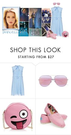 """""""Untitle XVII."""" by petialice ❤ liked on Polyvore featuring Mason's, Christian Dior, N°21, Olivia Miller, TOMS and modern"""